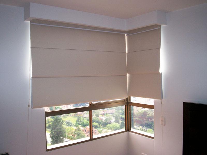 Cortinas romanas lugares originales para su uso todo cortinas - Todo cortinas y estores ...
