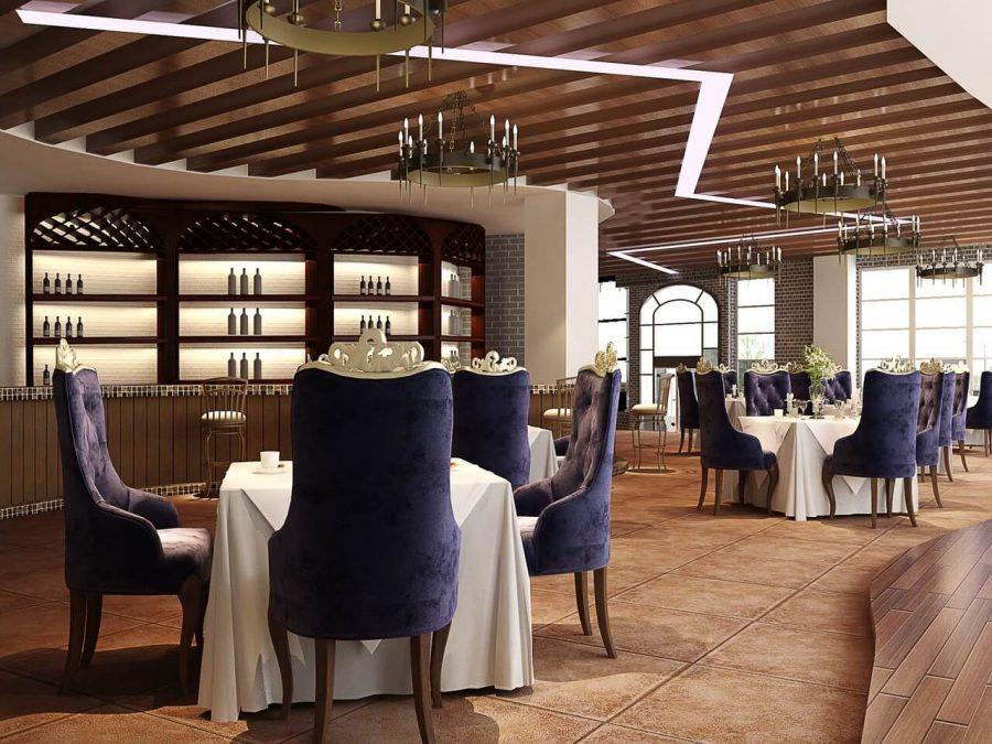 Cortinas para Restaurantes de Hotel