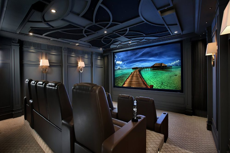 Cortinas Roller BlackOut para un Cine en Casa