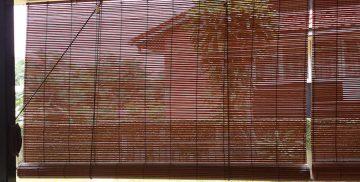 Cortinas de Bambú