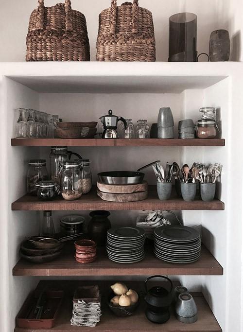 Cortinas y Tips para Cocinas Rústicas