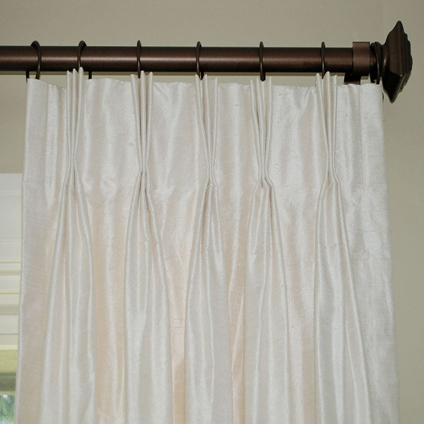 Tipos de Cortina. Plisado Pinch Pleat Drapes