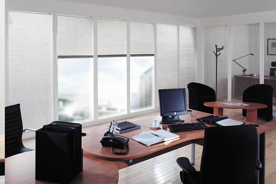 Cortinas para Oficinas Comercios Consultorios