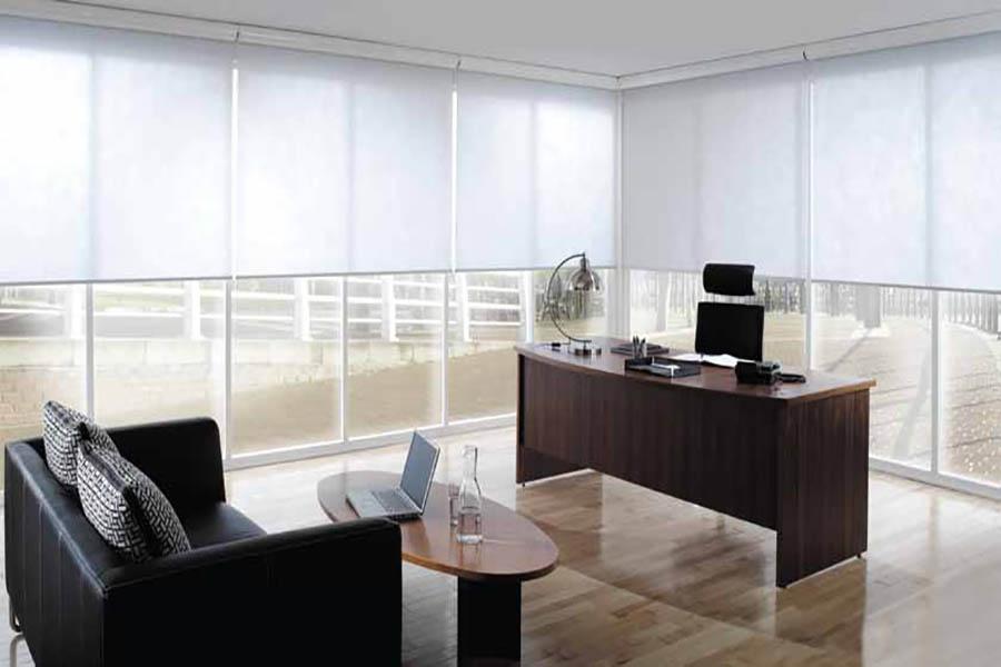 Cortinas para Oficinas, Comercios, Consultorios