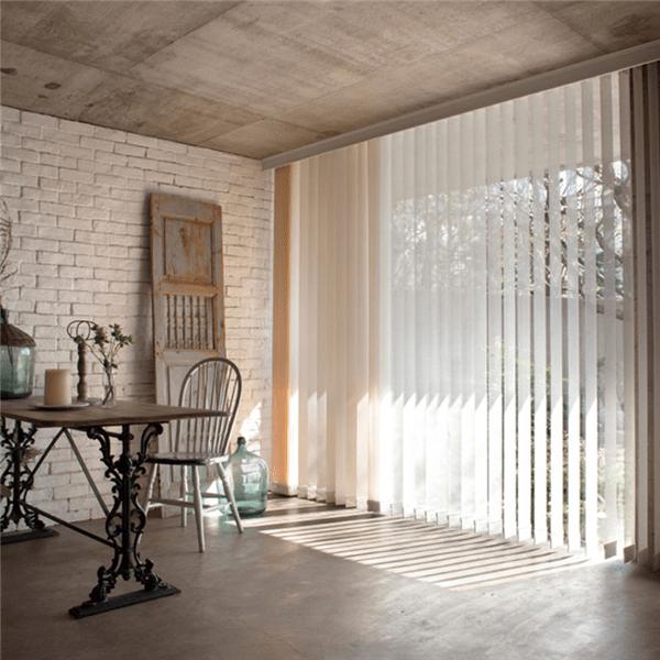 Cortinas y Moderna Decoración de Interiores