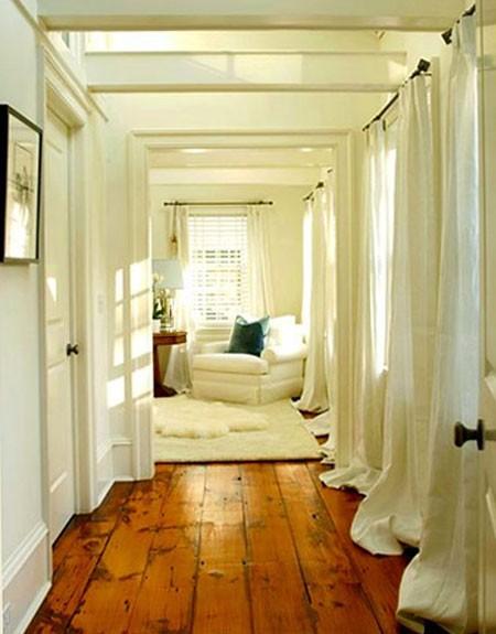 cortina para pasillos